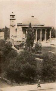 Olomoucký Husův sbor na počátku padesátých let minulého století